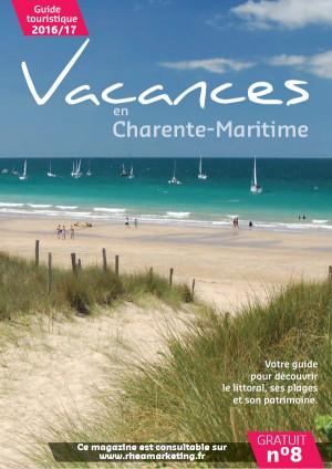 Vacances en Charente-Maritime, support publicitaire pour les touristes par Rhéa Marketing