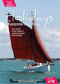 Holidays n° 8 support depuiblicité en anglais touristes et anglophones (Charente-Maritime)